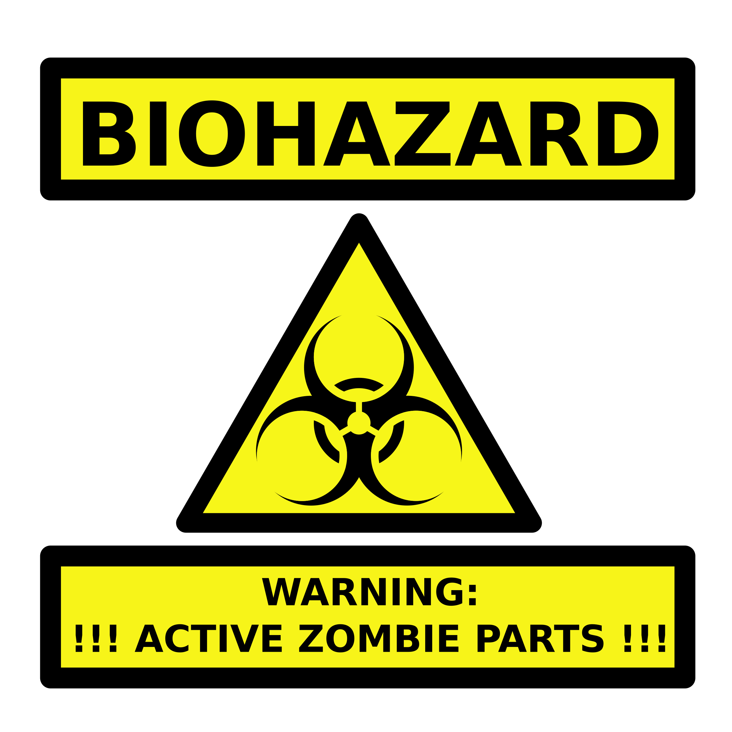 Ripped baseball player clipart clip art black and white Clipart Zombie Parts Warning Label - 2400x2400 - png | Board Game ... clip art black and white
