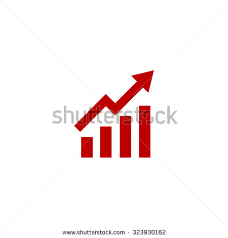 Rising arrow clipart image free library Rising Arrow Stock Images, Royalty-Free Images & Vectors ... image free library