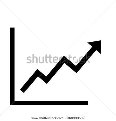 Rising arrow clipart royalty free download Rising Arrow Stock Images, Royalty-Free Images & Vectors ... royalty free download