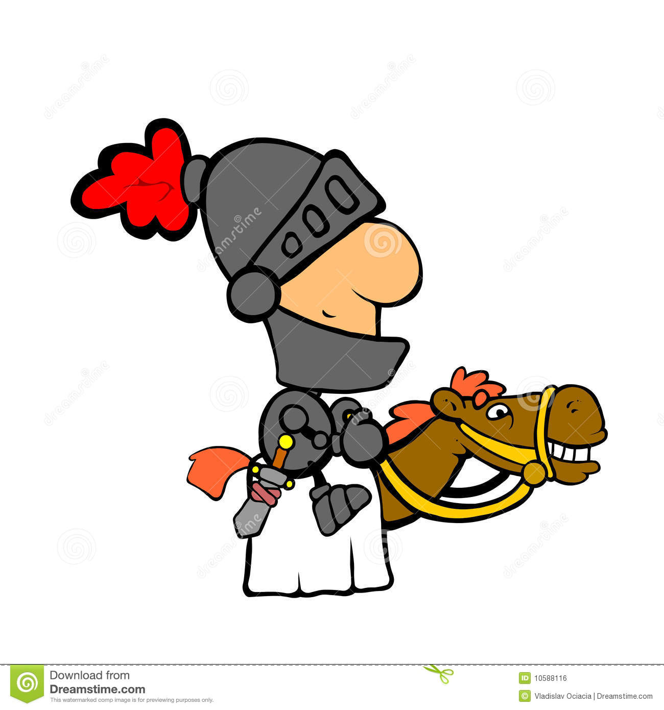 Ritter auf pferd clipart image library stock Ritter Auf Pferd Lizenzfreies Stockbild - Bild: 10588116 image library stock