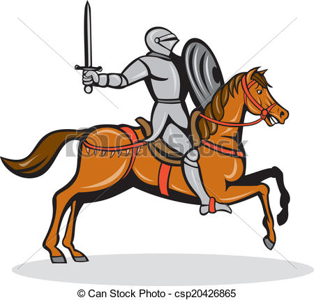 Ritter auf pferd clipart vector freeuse stock Ritter auf pferd clipart - ClipartFest vector freeuse stock