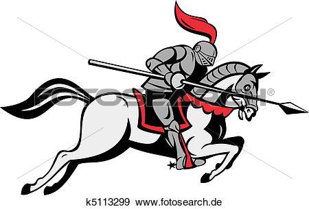 Ritter auf pferd clipart picture black and white Ritter Illustrationen und Stock Kunst. 6.466 ritter EPS ... picture black and white