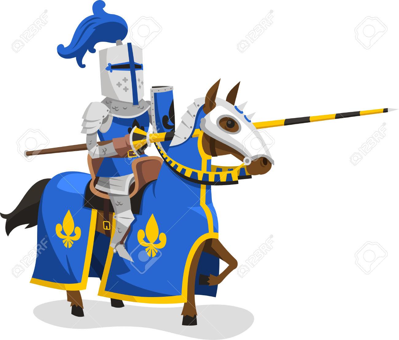 Ritter auf pferd clipart png library stock Ritter Anzug Körperschutz Rüstung Pferde Lance Helm, Vektor ... png library stock
