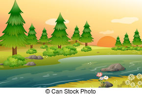 Rivebank clipart picture free stock Riverbank Illustrations and Clip Art. 1,040 Riverbank ... picture free stock