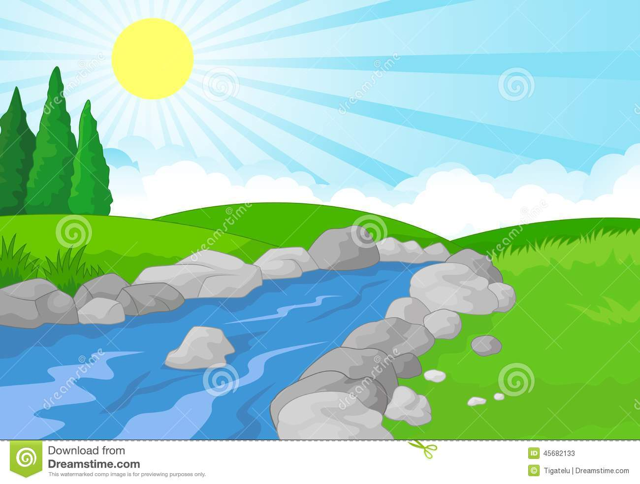 River background clipart clip art royalty free stock Green River Background Stock Photo - Image: 49260894 clip art royalty free stock
