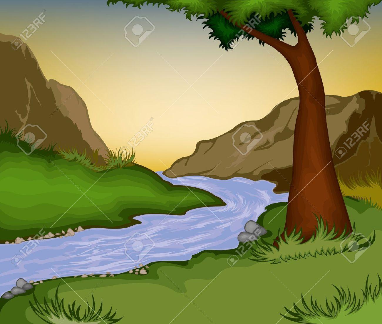 River background clipart picture transparent download Animated river clipart - ClipartFest picture transparent download