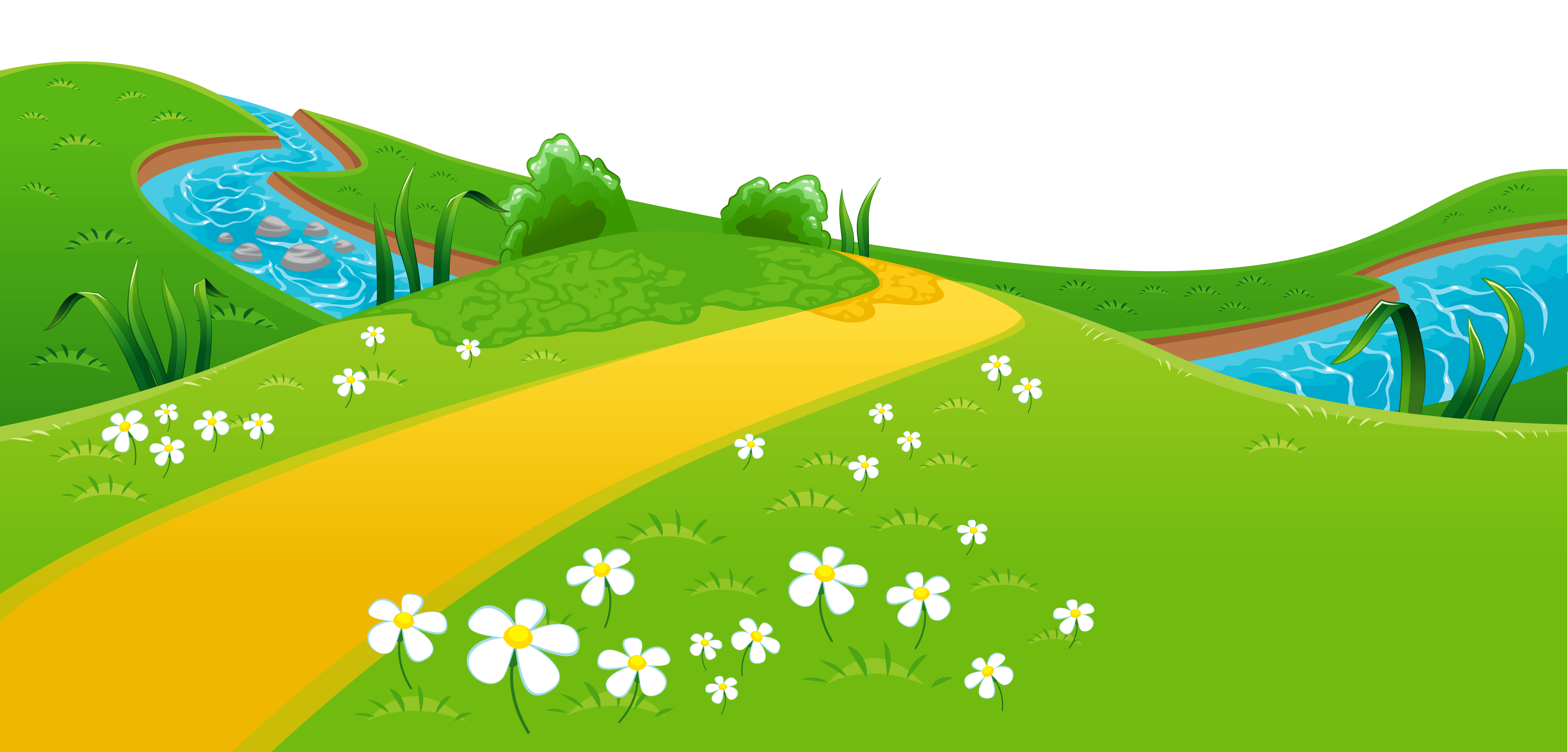 River clipart free clipart library download Meadow and River Ground PNG Clipart clipart library download
