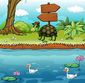 River bank clipart clip art download Riverbank Clip Art - Royalty Free - GoGraph clip art download
