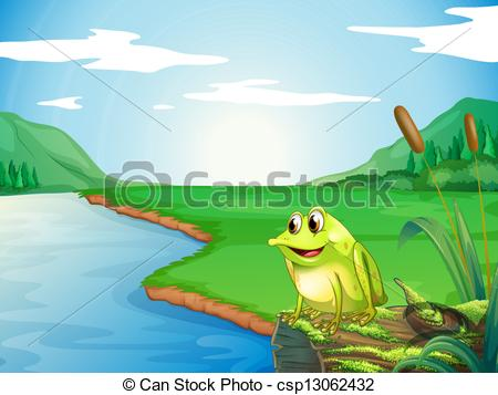 River bank clipart