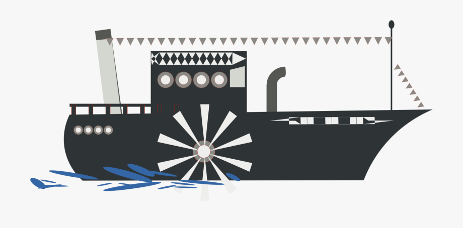 River boat with a paddle wheel clipart svg transparent Riverboat Steamboat Natchez Ship - Paddle Steam Boat Png ... svg transparent