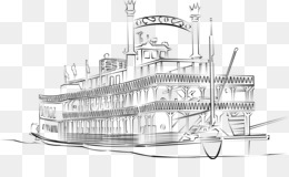 River boat with a paddle wheel clipart clipart royalty free stock Ship Cartoon png download - 1032*700 - Free Transparent ... clipart royalty free stock