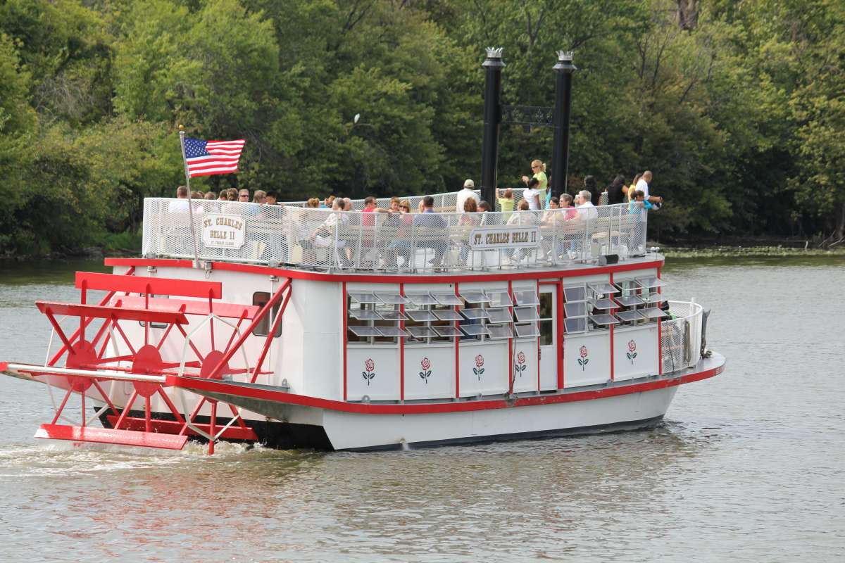 River boat with a paddle wheel clipart picture royalty free download St. Charles Paddlewheel River Boats   Enjoy Illinois picture royalty free download