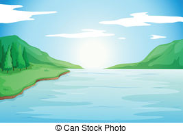 River clipart banner royalty free Clip Art Can Stock Photo Winding River Clipart - Clipart Kid banner royalty free