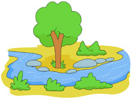 River clipart free clip art royalty free River And Trees Clipart - Clipart Kid clip art royalty free