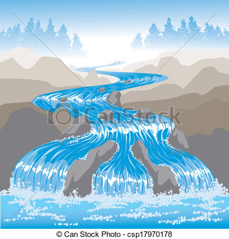 River flow clipart picture library download River Illustrations and Clip Art. 43,354 River royalty free ... picture library download