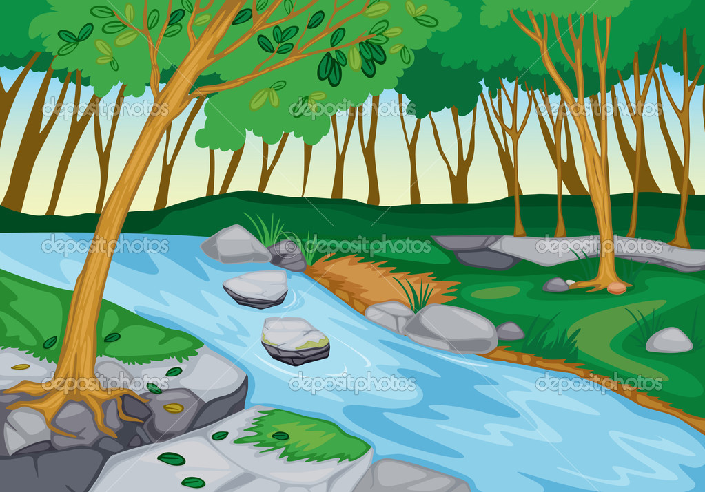 River flow clipart png library library Running River Clipart - Clipart Kid png library library
