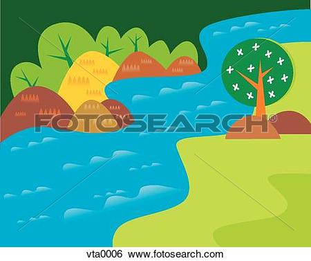 River flow clipart banner library stock Flowing water Illustrations and Clipart. 11,488 flowing water ... banner library stock