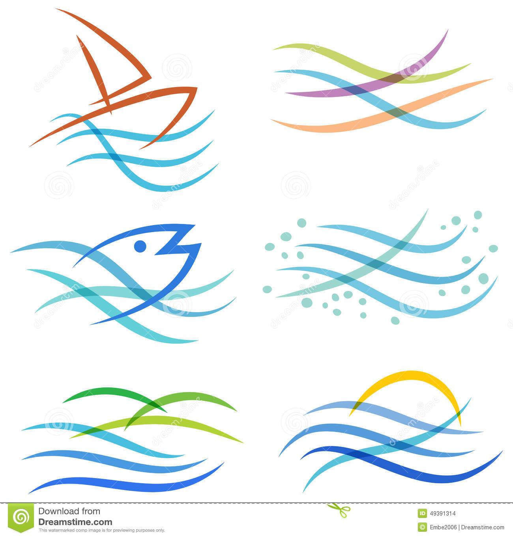 River logo clipart jpg library Water Sea Logo Stock Vector - Image: 49391314 jpg library