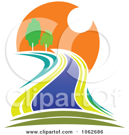 River logo clipart clip art royalty free Clipart Nature And River Logo 1 - Royalty Free Vector Illustration ... clip art royalty free