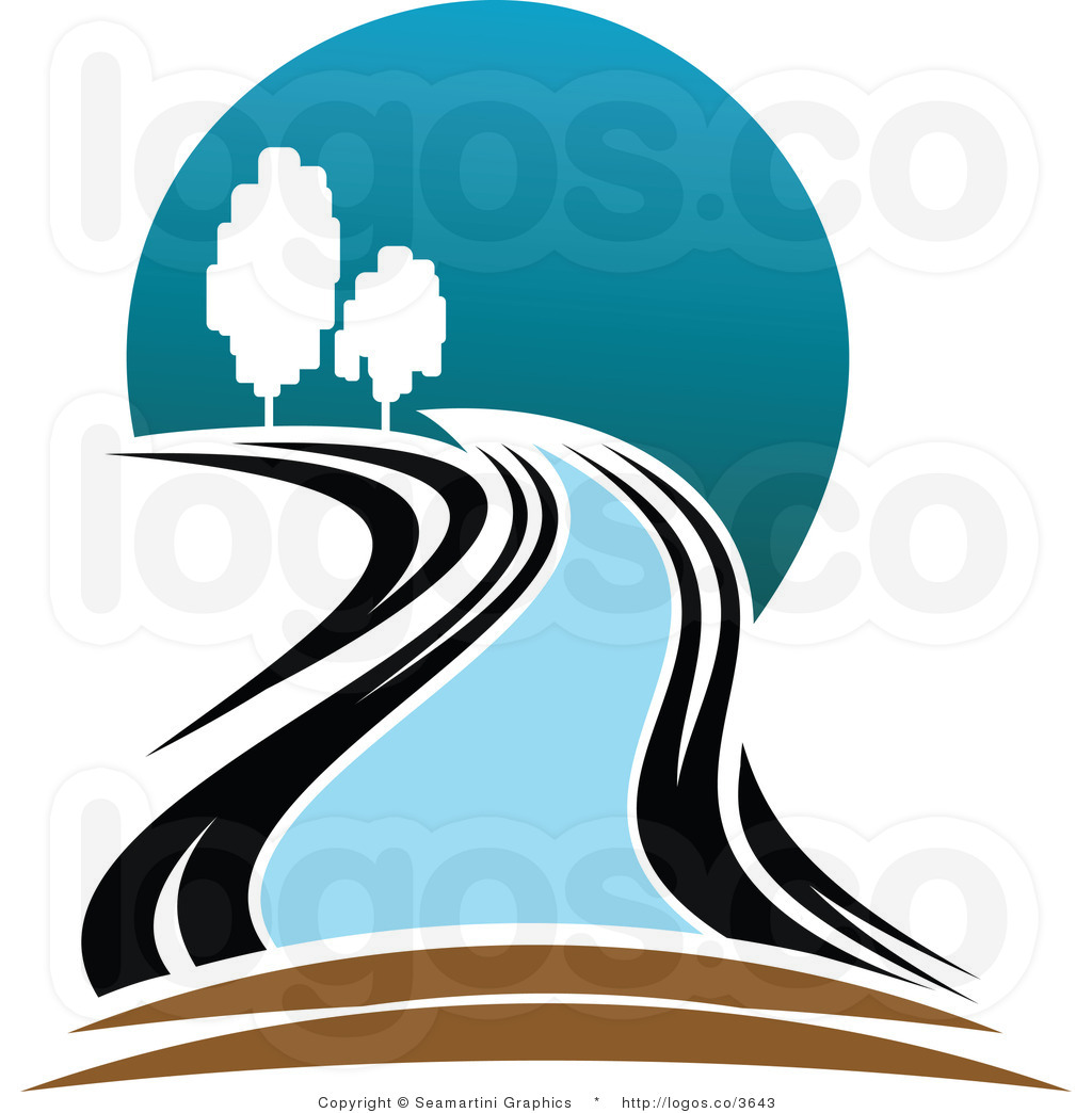 River of life clipart vector freeuse stock Flowing River Clipart | Free download best Flowing River ... vector freeuse stock