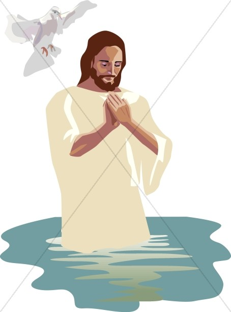 River pray clipart graphic royalty free library Baptism of the Lord Images, Baptism of Jesus Clipart - Sharefaith graphic royalty free library