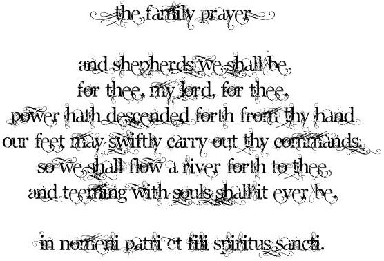 River pray clipart vector library Boondock saints prayer clipart - ClipartFox vector library