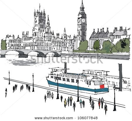 River thames clipart png library River Thames Stock Vectors, Images & Vector Art | Shutterstock png library