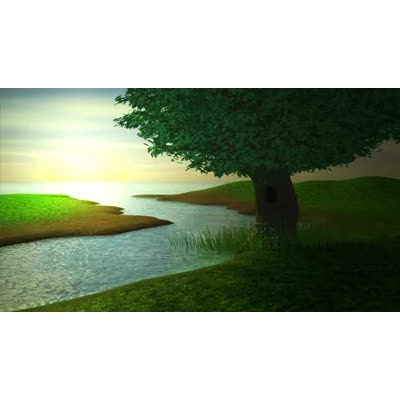 River water clipart video png transparent library Tree by River - Video Backgrounds - Video Background for ... png transparent library