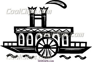 Riverboat images clipart png black and white stock Riverboat clipart » Clipart Station png black and white stock