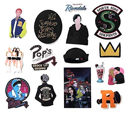 Riverdale clipart pack jpg download Riverdale Decal Stickers Assorted Lot of 15 Pieces jpg download