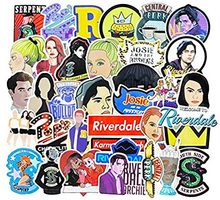 Riverdale clipart pack image free Riverdale Stickers Decals for Phone Waterproof Water Bottles ... image free