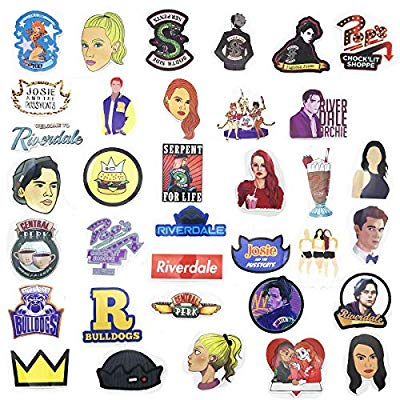 Riverdale clipart pack png free stock Yizeda Riverdale Themed Decal Stickers Waterproof Vinyl Scrapbook Stickers  Car Motorcycle Bicycle Luggage Decal 35pcs Pack png free stock
