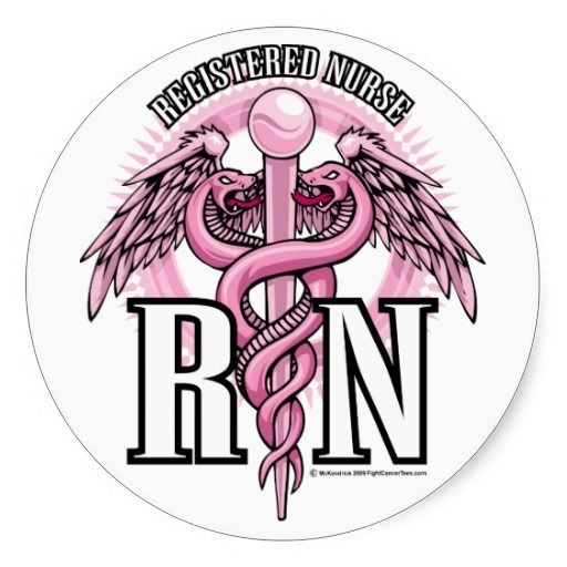 Rn logo clip art clipart black and white Registered Nurse Clip Art | Registered Nurse Logo Pink | Proud to ... clipart black and white
