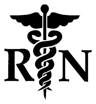 Rn nurse clipart