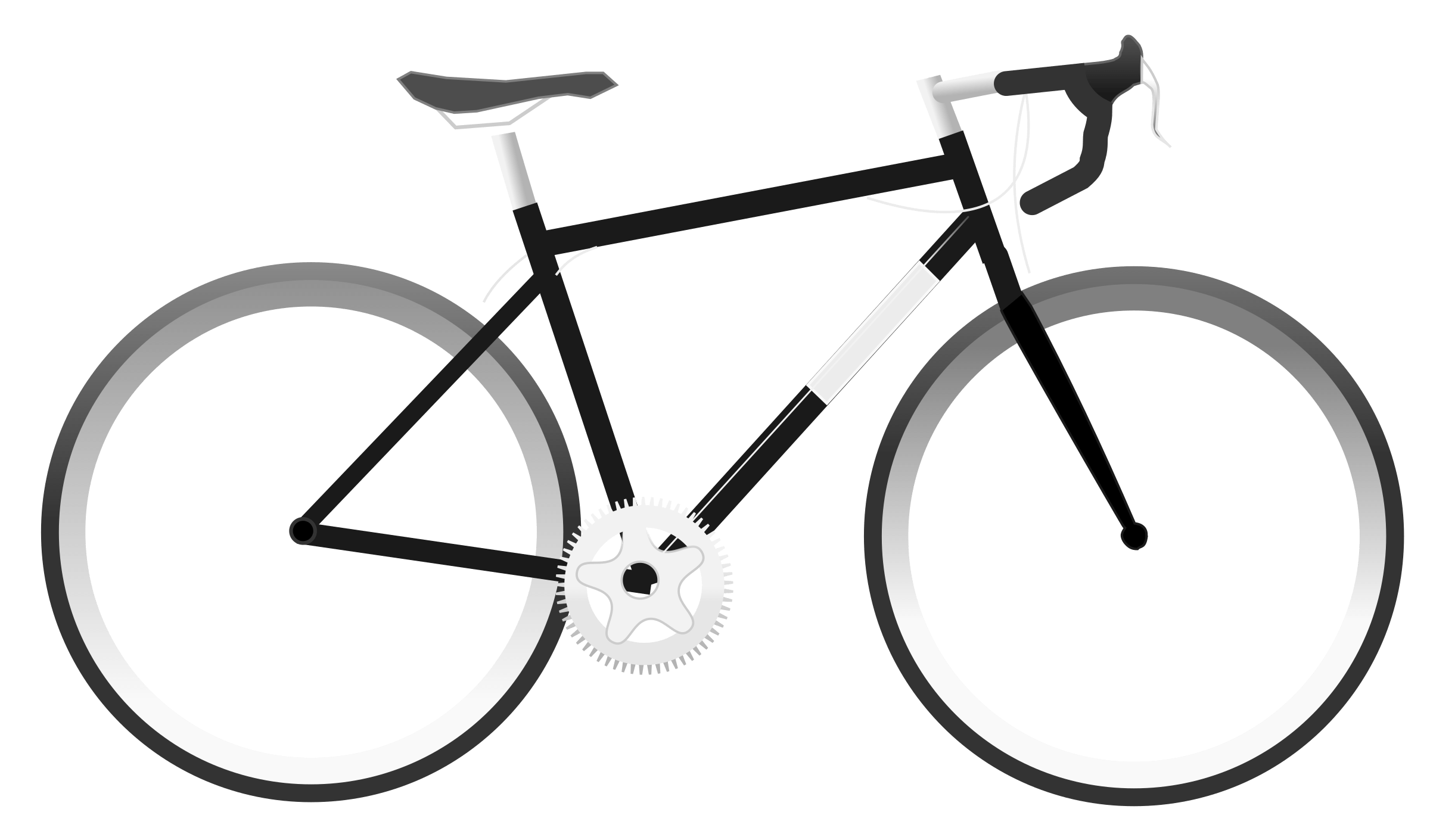 Road bike clipart vector royalty free stock Simple Bike Clipart transparent PNG - StickPNG vector royalty free stock