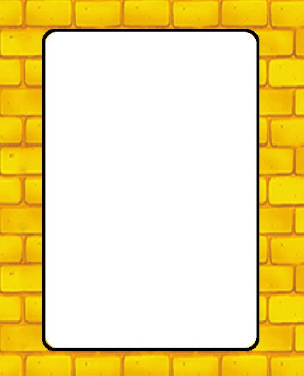 Road border clipart picture black and white stock Yellow Brick Road Clipart | Free download best Yellow Brick ... picture black and white stock