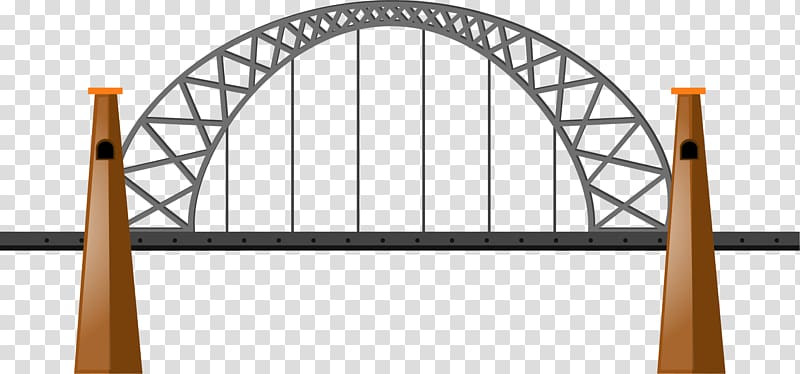 Road bridge clipart png library library Bridge Illustration, road bridge transparent background PNG ... png library library