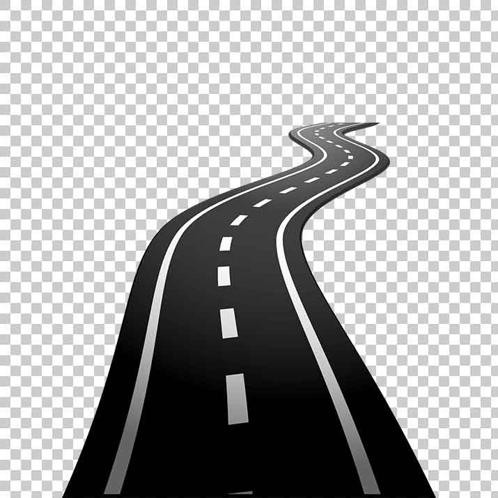 Road images clipart banner black and white download Road Clipart PNG Image Free Download searchpng.com banner black and white download