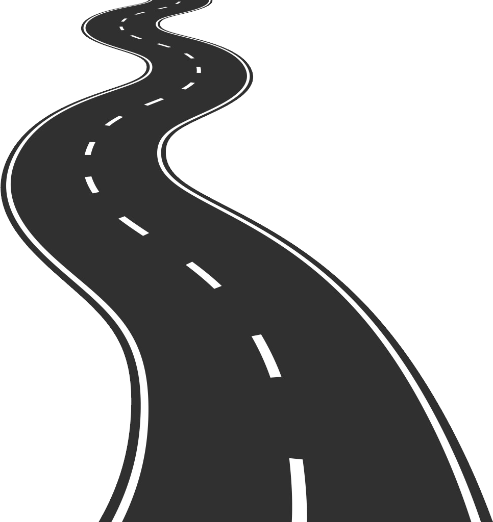 Way clipart black and white graphic black and white download Road PNG images, highway PNG download graphic black and white download