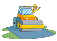 Road construction site clipart banner library Free Construction Clipart - Clip Art Pictures - Graphics ... banner library