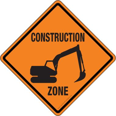 Road construction site clipart picture freeuse Printable Construction Signs Pictures - ClipArt Best - ClipArt ... picture freeuse