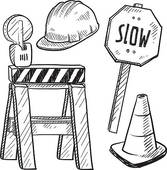Road construction site clipart jpg freeuse library Road construction Clip Art and Illustration. 11,451 road ... jpg freeuse library