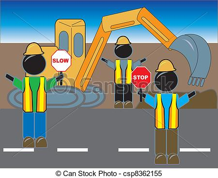 Road construction site clipart image black and white download Road construction site clipart - ClipartFest image black and white download