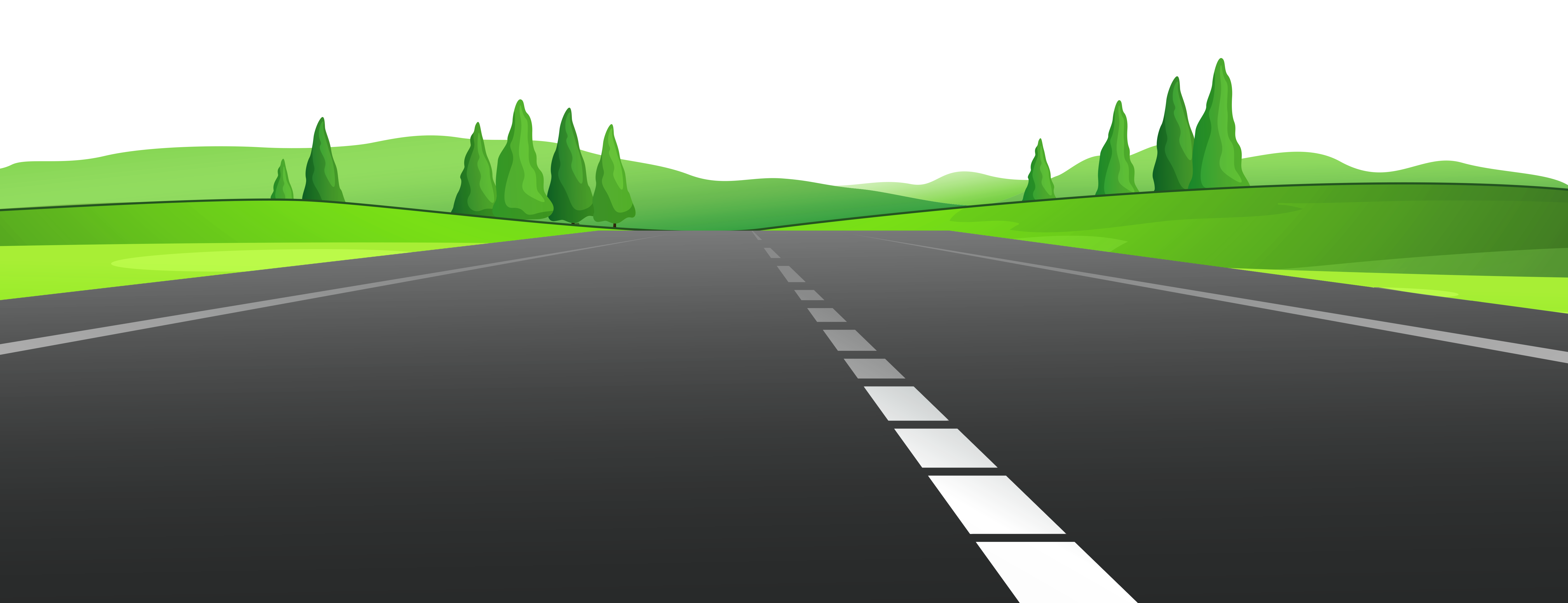 Road images clipart banner freeuse Road with Grass PNG Clipart | Gallery Yopriceville - High ... banner freeuse