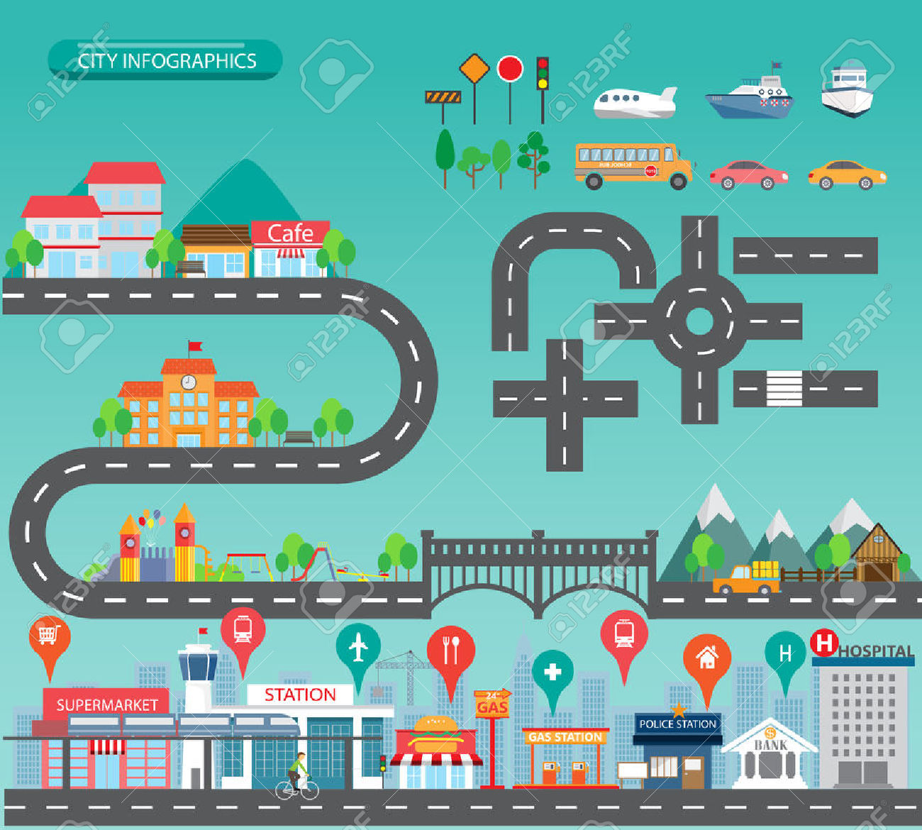 Road map background clipart clipart free stock 34,197 Road Map Stock Illustrations, Cliparts And Royalty Free ... clipart free stock