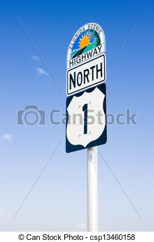 Road number 1 clipart jpg stock Stock Images of the road number 1, Florida Keys, Florida, USA ... jpg stock