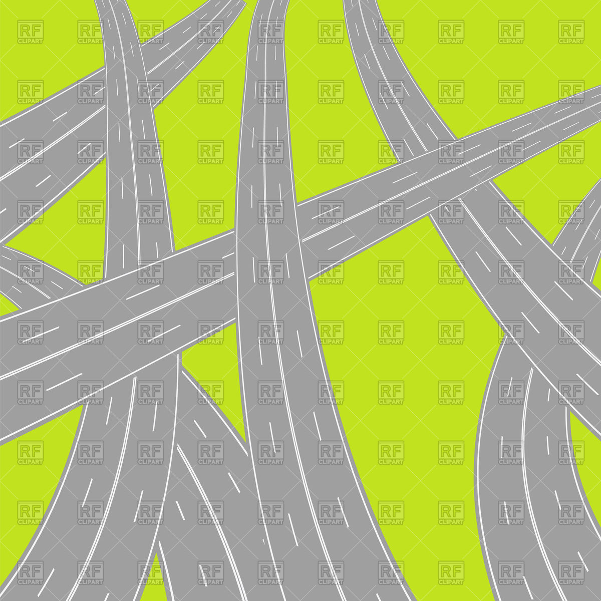 Road s clipart png freeuse stock Crossed roads top view Vector Image #63732 – RFclipart png freeuse stock