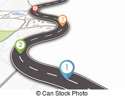 Road s clipart image black and white download Pointer roads Vector Clipart Royalty Free. 12,295 Pointer roads ... image black and white download