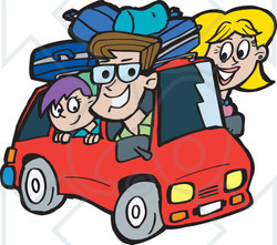 Road trip map clipart picture stock Road Trip Cartoon Clipart - Clipart Kid picture stock