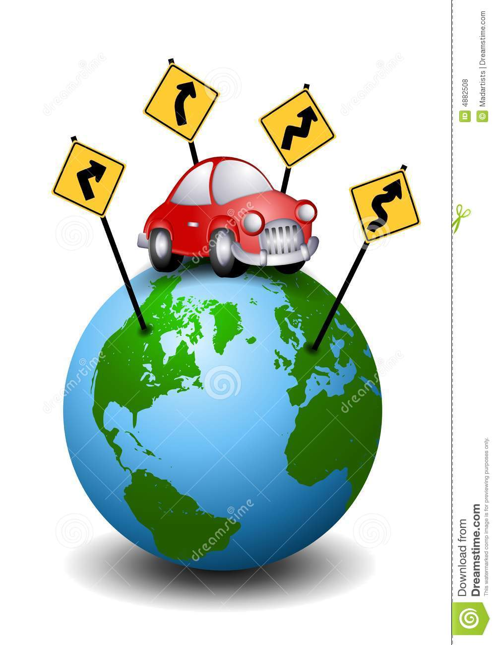 Road trip map clipart svg free Road Trip Travel Directions Royalty Free Stock Photos - Image: 4882508 svg free